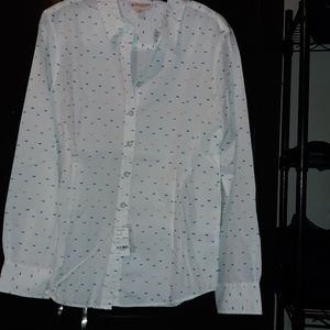 Brooks Brothers Buttin down shirt with sprinkles